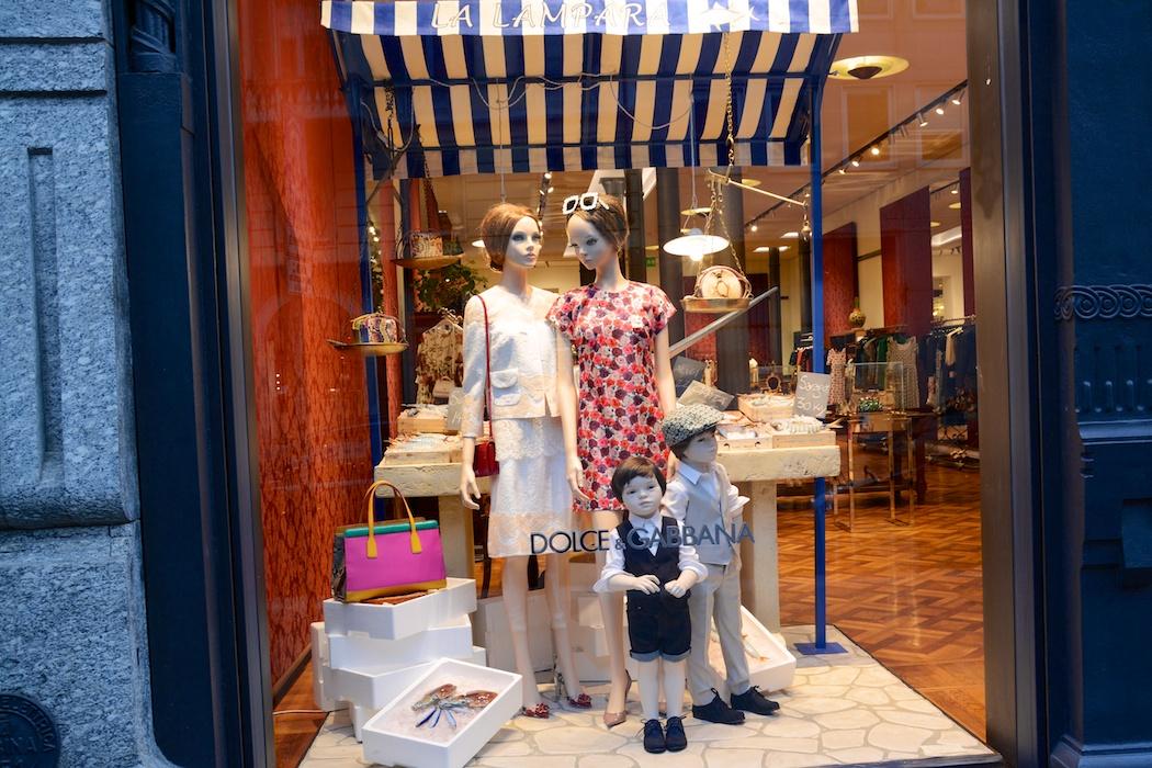 Dolce & Gabbana, Corso Venezia, Milano