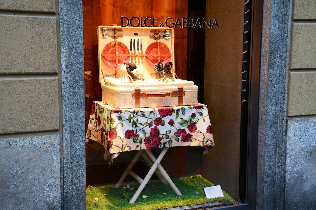 Dolce & Gabbana, Via della Spiga, Milano