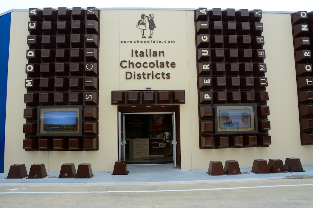 Italian Chocolate Districts, Expo, Milan