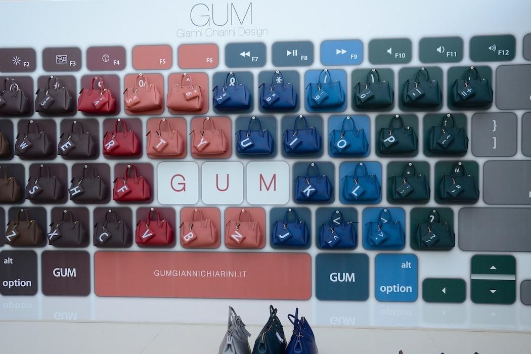 Gum, Pitti Uomo, Florenz