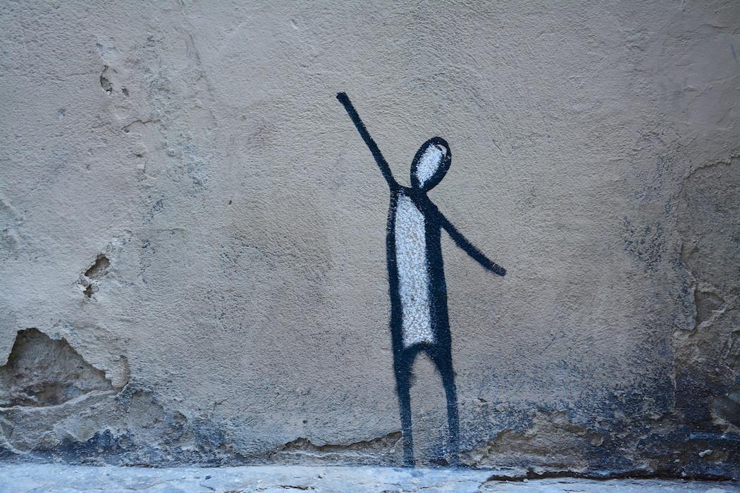 Streetart, Florenz