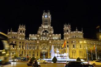 Majestätisch bei Nacht: Palacio de Cibeles