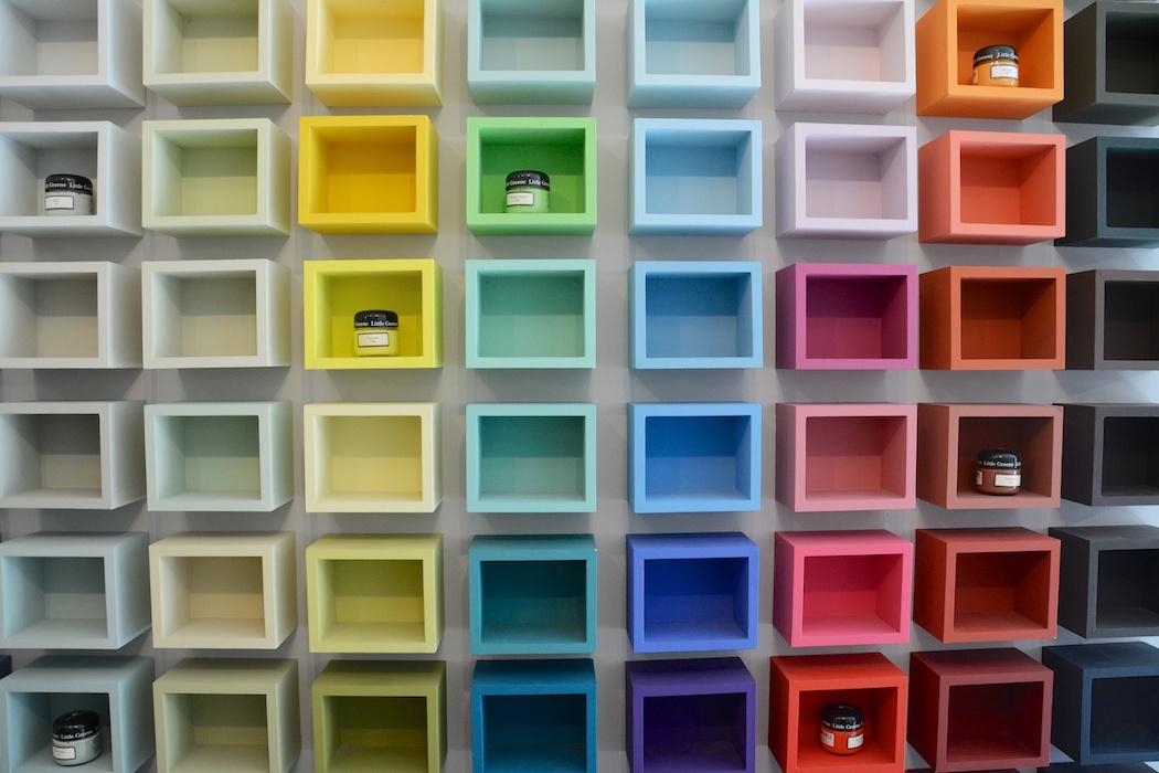 im farbrausch schaufenster. Black Bedroom Furniture Sets. Home Design Ideas