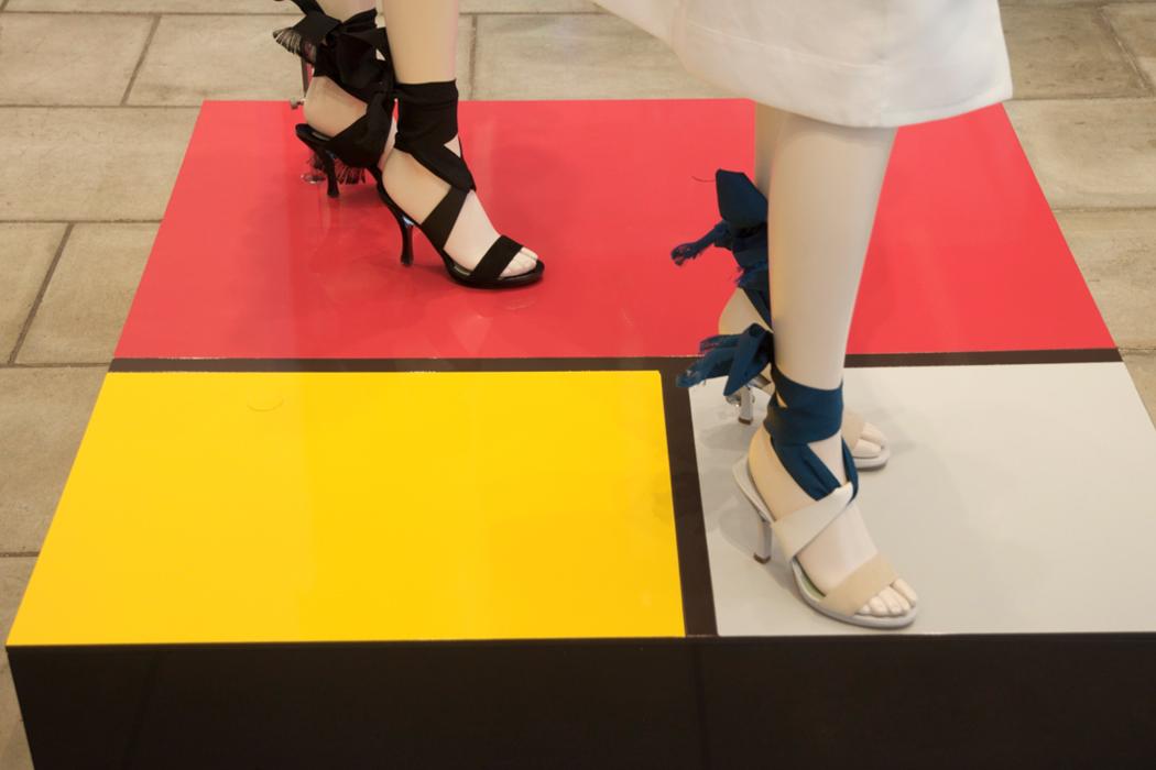 Auf buntem Fuß, Max Mara/Mailand