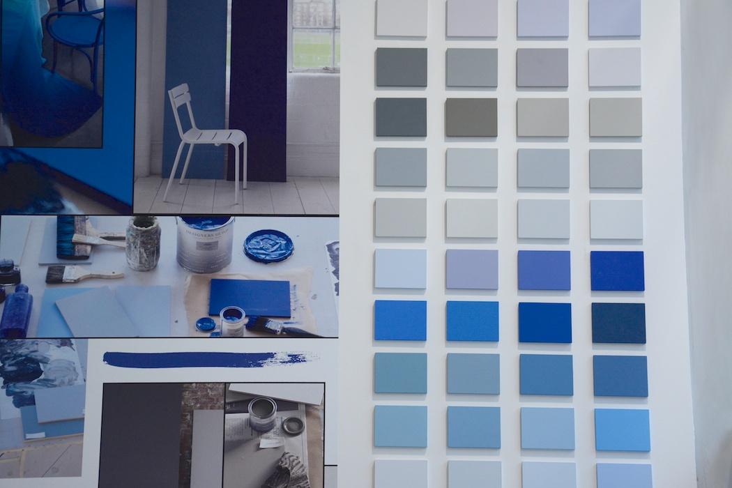 Blauer Farbrausch, Designers Guild