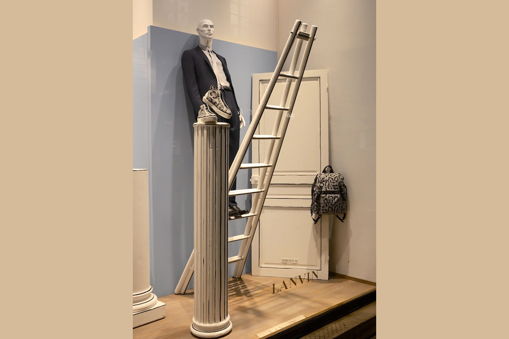 Die Leiter immer nach oben, Lanvin/ Paris