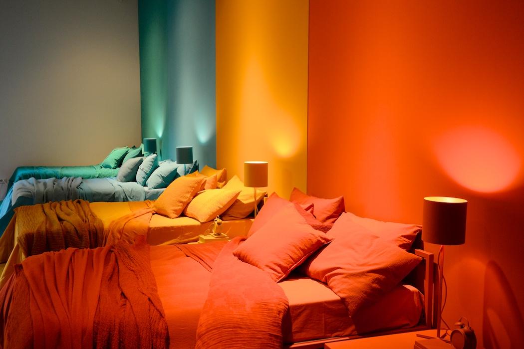 Striking colours bei Society, Milano