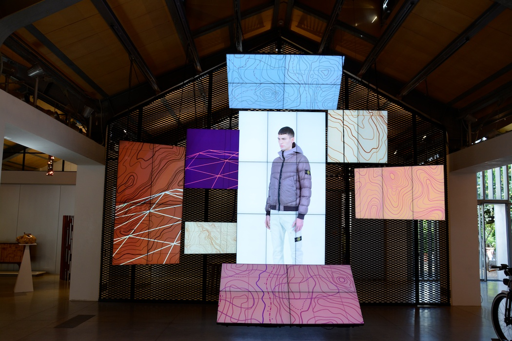Voller Innovation, Stone Island, Showroom Milano