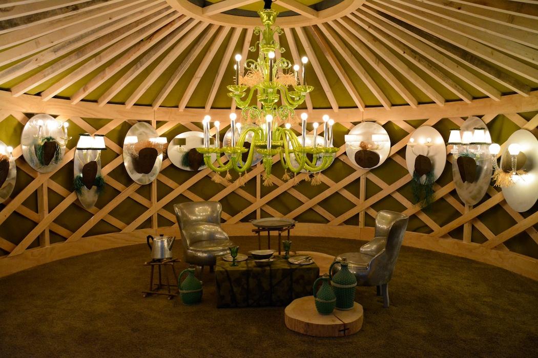 Hier will man gleich Platz nehmen, Barovier & Toso by Paola Navone