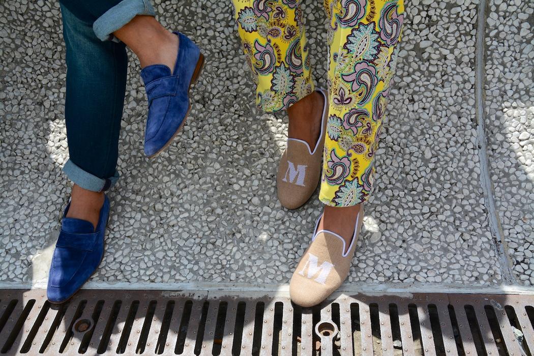 Auch die Schuhe müssen stimmen