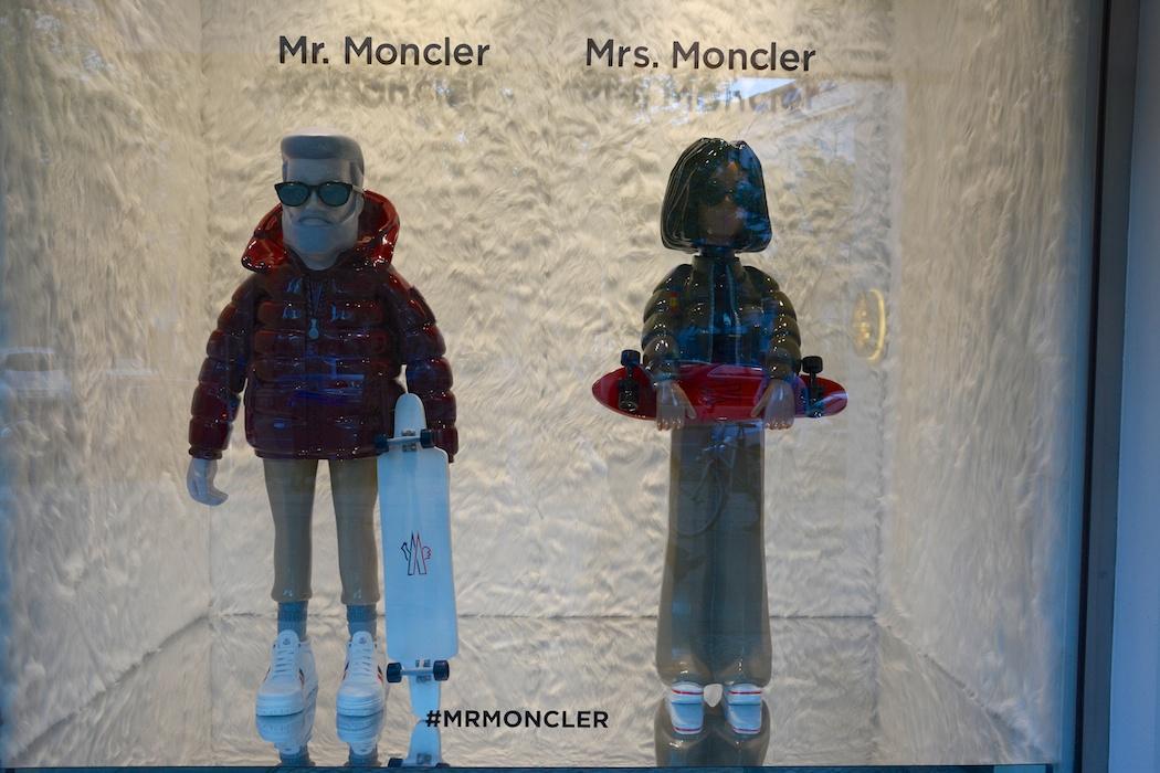 Moncler, Berlin, präsentiert Personalities