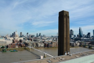 London's fantastic panorama seen from Tate Modern