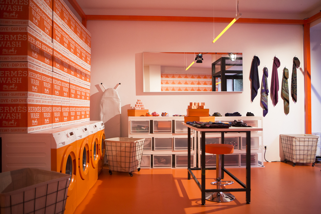 Orange-allover, Foto: Hermès