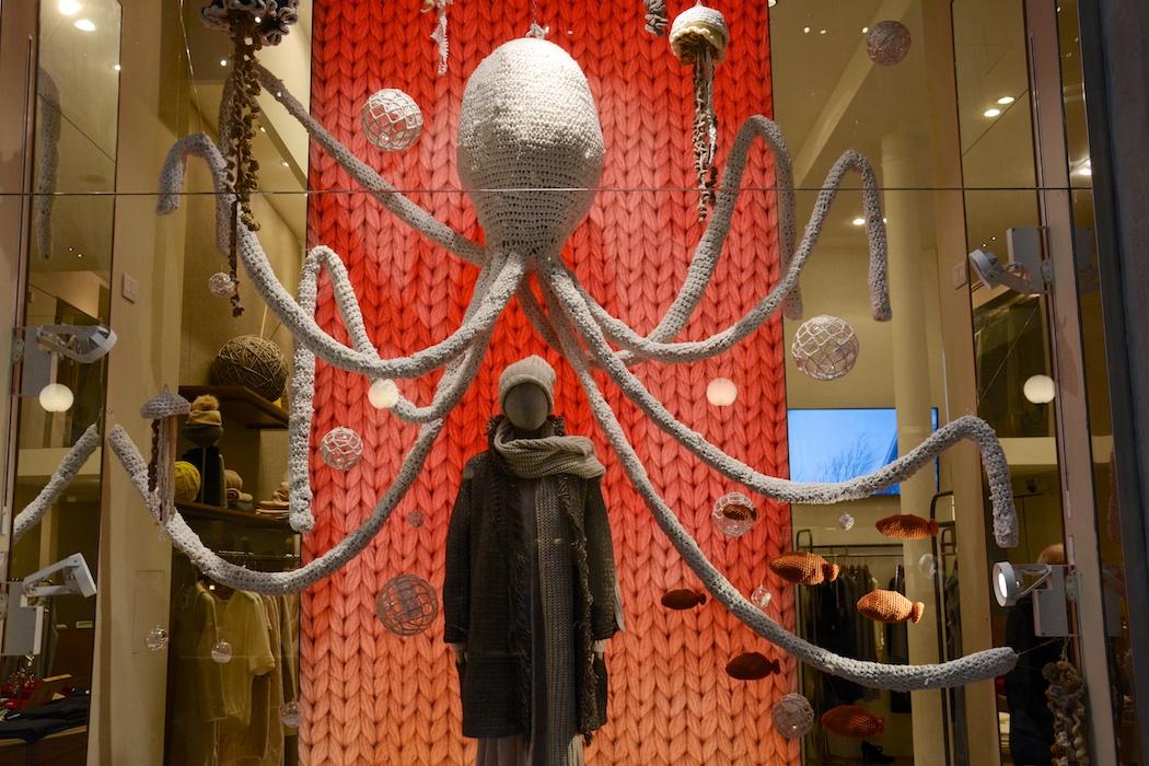 Riesenkraken mit Riesenmaschen, Stefanel