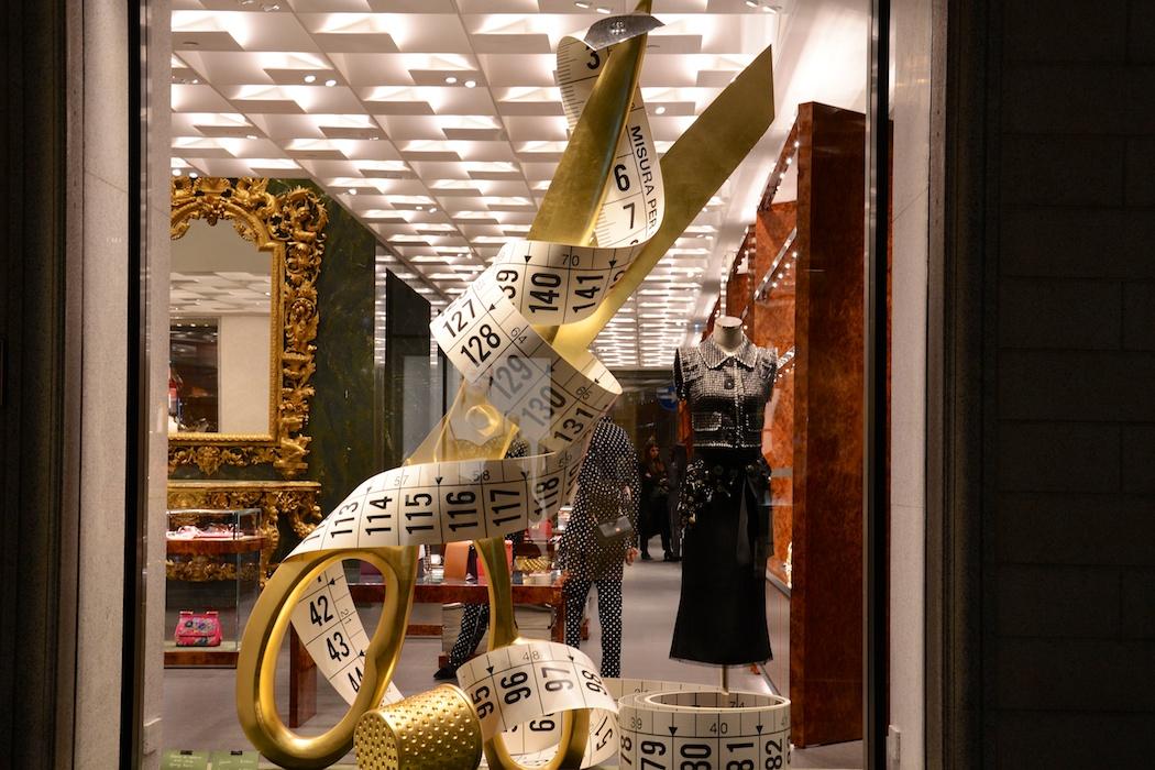 XXL Nähzutaten ganz edel in Gold, Dolce & Gabbana