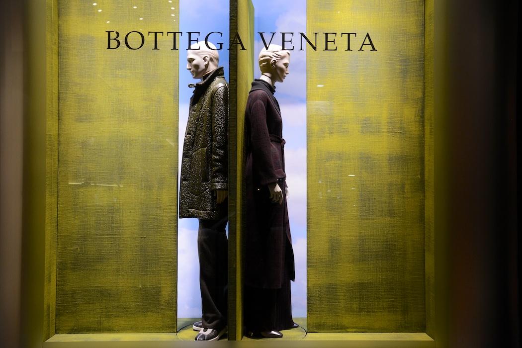 Tür auf! Bottega Veneta, Mailand