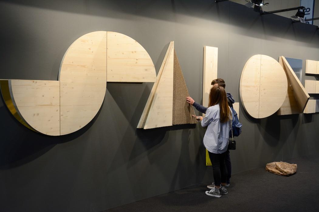 Auf dem Holzweg? Salone Satelite, Mailand