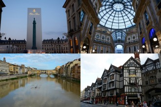 Best of Milano, Munich, London, Paris, Florence and Berlin!