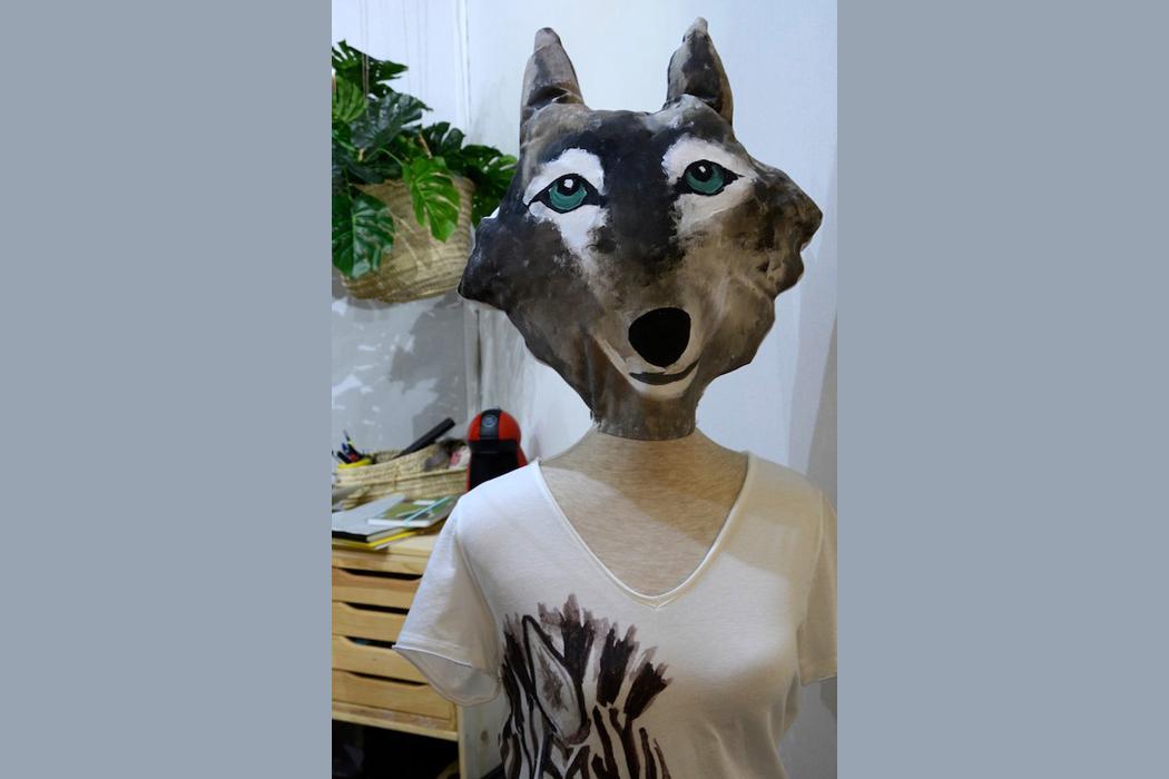 Viel Charakter! Der Wolf ist los...