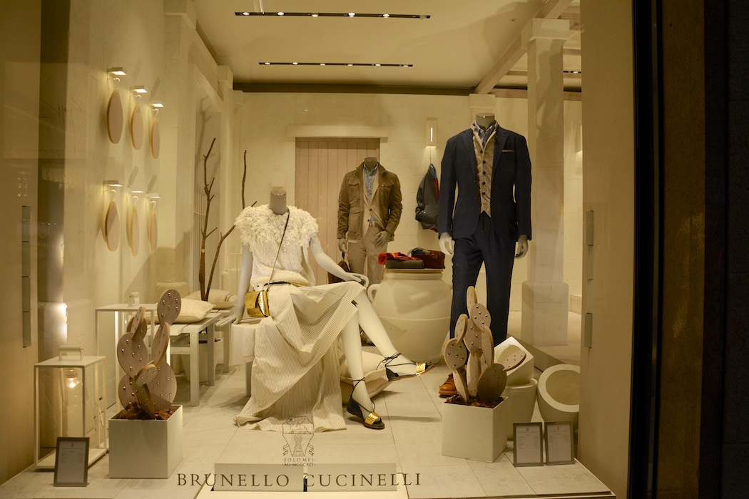 Ton-in-Ton Eleganz bei Brunello Cucinelli