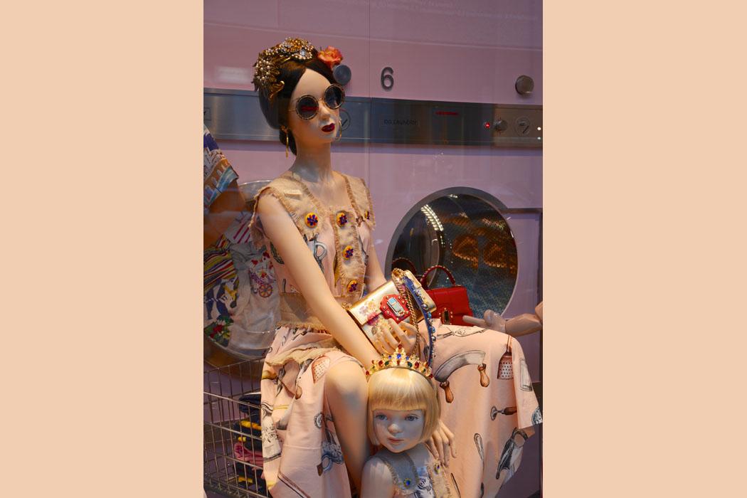 Mutter-Tochter Look bei Dolce & Gabbana