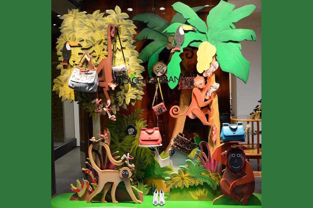 Highlife im modischen Urwald bei Dolce & Gabbana