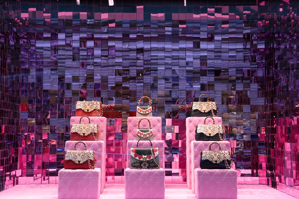 Pink is beautiful bei Gucci