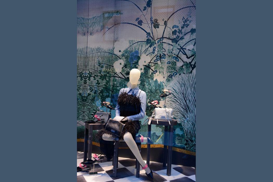 Exotic flowers auch bei Prada