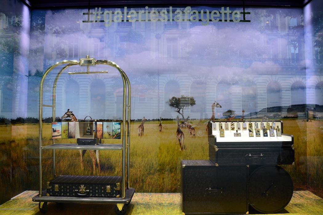 Große Düfte für die grandes vacanes, Galeries Lafayette